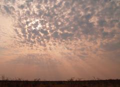 Tsumeb Soleil levant