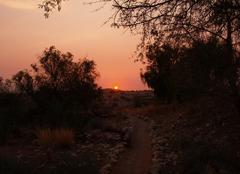 Windhoek Soleil couchant