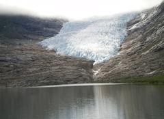 Le glacier de Svartisen
