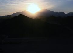 Ciel Hurghada Coucher de soleil egypte