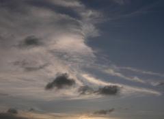 Ciel Sinnamary 97315 Couché de soleil sur le Sinnamary (973)