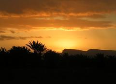 Ciel Zagora Lever de soleil