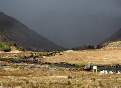 Orage Galway L'orage arrive sur le Connemara