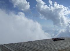 Nuages Aoste 11100 Un moment d'évasion sur le mont rose
