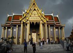 Orage en thailande