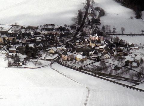 Neige sur Allemagne