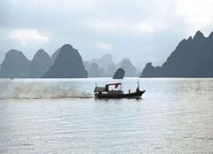 Pluie Haiphong La Baie d'Halong