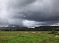 Orage Moy L'orage monte dans les Hihlands