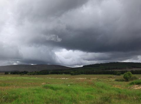 L'orage monte dans les Hihlands