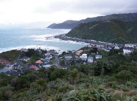 Vent du sud à Wellington