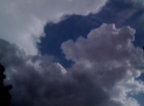 L'orage  (APPLICATION METEO - REPORTER MOBILE)