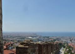 Thessalonique Salonique 2. vue de la muraille
