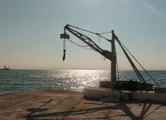 Mer Thessalonique Salonique 3. soleil de l'après-midi