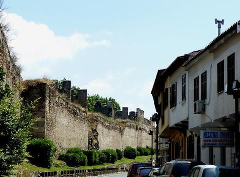 Salonique 4. la muraille