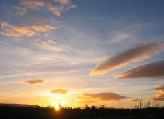 Nuages Stirling Coucher de soleil 15