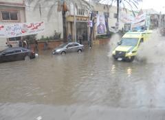 Pluie Alexandrie Inondations à Alexandrie