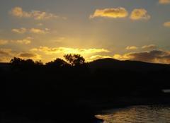 Ciel Annaba Couché de soleil à Elkala (extreme est algérien)