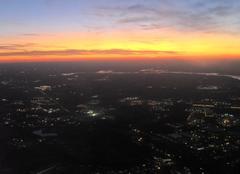 Raleigh Crépuscule à Charlotte
