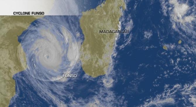 Actualit�s Etranger - Mozambique - Temp�te