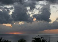 Début de soirée en Guadeloupe