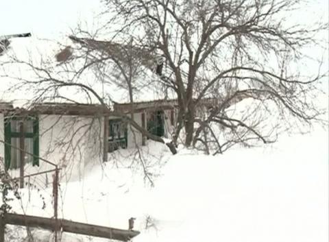 Roumanie neige