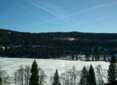 Froid Titisee-Neustadt Le Titisee est gelé !