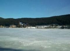 Froid Titisee-Neustadt Banquise au Titisee
