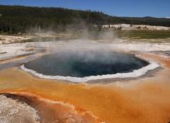 Yellowstone Park Des entrailles de la Caldera