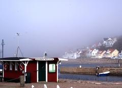 Brouillard Halmstad Manteau de brume matinale