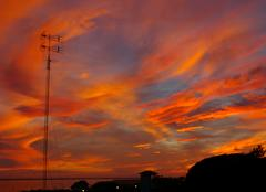 Nuages Huelva 21001 Coucher de soleil