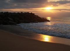 Ciel Luanda Couché de soleil