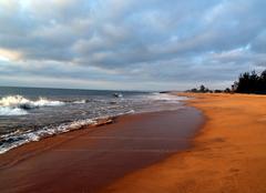 Luanda Jolie plage deserte
