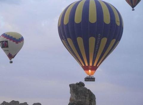 Vol en mongolfière au dessus de la Cappadoce