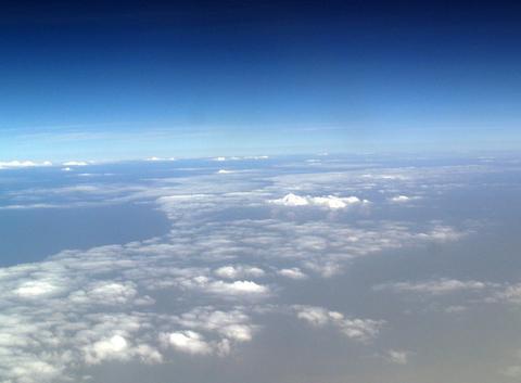 Entre nuage et ciel