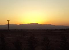 Ciel Izmir Coucher de soleil