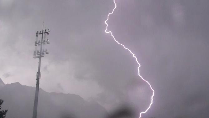 Actualit m t o orages et chute de la temp rature dans - La chaine meteo montelimar ...