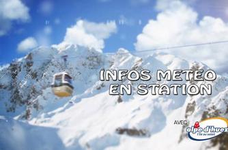 Vidéo Infos météo en station