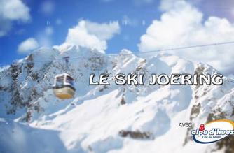Vidéo Le ski joëring