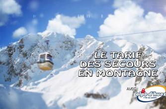 Vidéo Le tarif des secours en montagne