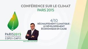 Vidéo Conférence Paris Climat 2015 (COP 21) : le développement économique en cause
