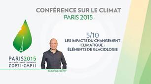 Vidéo Conférence Paris Climat 2015 ( COP 21 ) : la fonte des glaces est-elle inéluctable?
