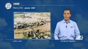Vidéo 20 ans d'évènements météo - 1995 : inondations et création de La Chaîne Météo