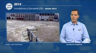 Vidéo 20 ans d'évènements météo - 2014 : Petra, Qumeira, Ruth, Stéphanie...