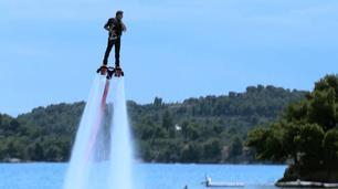 Vidéo Le flyboard