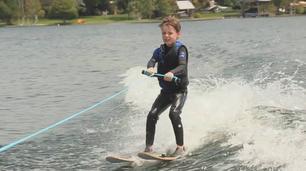 Vidéo Le ski nautique