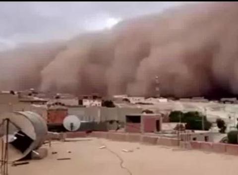 Tempète de sable