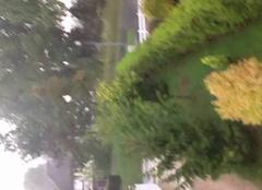 Énorme pluie et beaucoup de vent