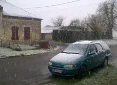 Neige dans la Thiérache