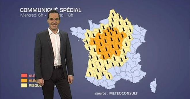 Alerte orange � la canicule