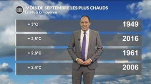 Vers le mois de septembre le plus chaud de...